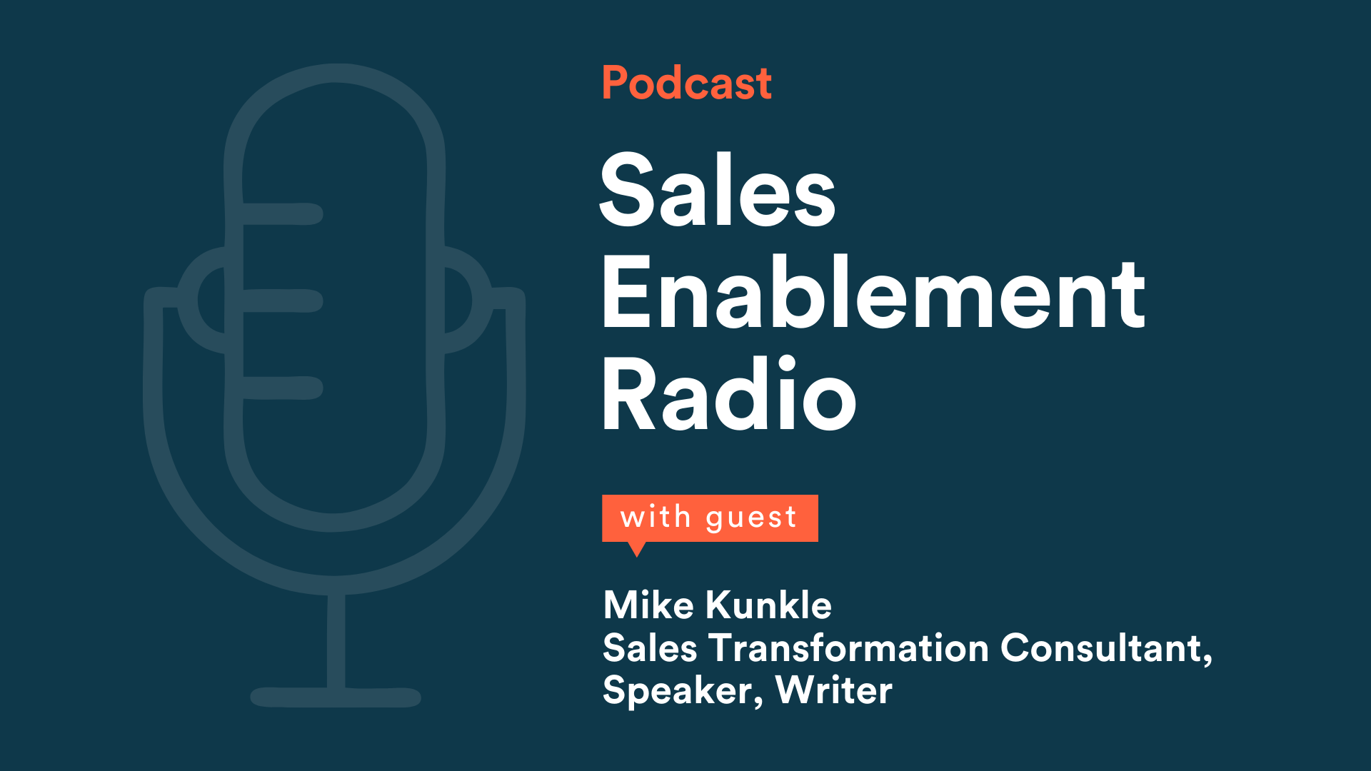 Podcast guest Mike Kunkle